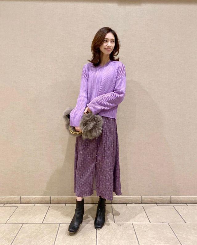2020年1月のファッショントレンド:カラーのワントーン