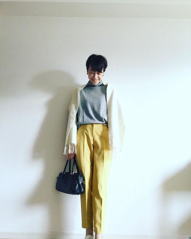 2020年1月のファッショントレンド:きれい色パンツ
